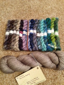 Canon Hand Dyes - Downtown Abbey set