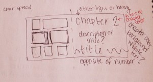 Notes about elements to consider when laying out the first page of a chapter