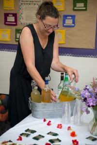 Deb Accuardi and her amazing botanical drinks!