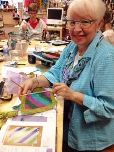 Lynda's Annetarsia - at For Yarn's Sake.  Love those colors!