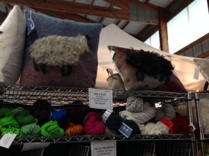 Needle-felting was everywhere, at Rhinebeck this year.