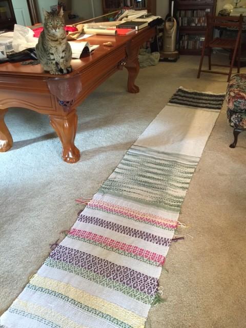 Weekend update – weaving, cats, and Deborah Chandler saves