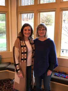 Lori Steiner, my good friend who just happens to be married to my Dad.  It was lovely to have her at the retreat!